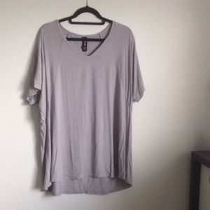 Gray Love Tunic by Agnes & Dora